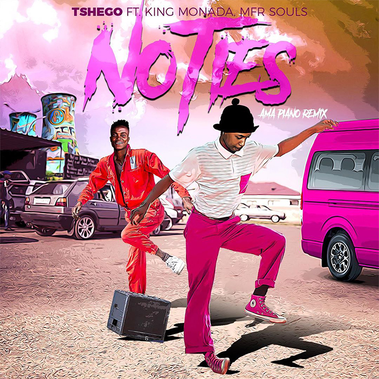 Tshego-No-Ties-(Amapiano-Remix)-Video-Artwork
